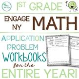 Engage New York/Eureka Math Application Problem Workbooks 1st Grade ENTIRE YEAR!