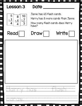 Engage NY/Eureka Math Application Problem Workbook 2nd Grade Module 2