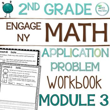 Engage NY (Eureka Math) Application Problem Workbook 2nd Grade Module 3