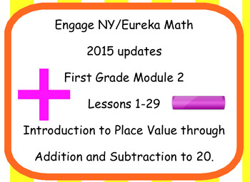 Engage NY Eureka Math First Grade Module 2