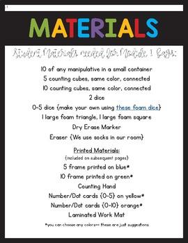 Engage NY/Eureka Math Fluency Bags Module 1