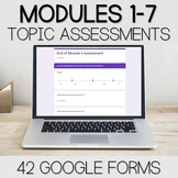 Fourth Grade Digital Math Assessment Bundle