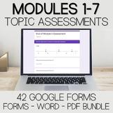Fourth Grade Math Assessment Mega Bundle