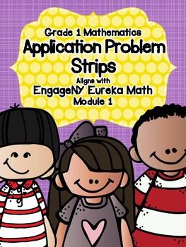 Engage NY Eureka Math Grade 1 Module 1 Application Problem Strips