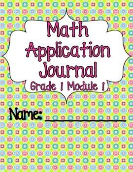 Engage NY Eureka Math Grade 1 Module 1 Application Problems Journal V2.0