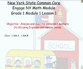 Engage NY, Eureka Math, Grade 1 Module 1
