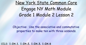 Engage NY, Eureka Math, Grade 1 Module 2