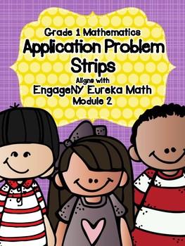 Engage NY Eureka Math Grade 1 Module 2 Application Problem Strips