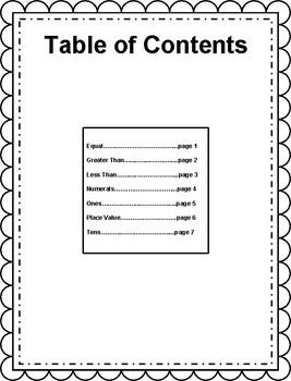 Engage NY/Eureka Math Grade 1, Module 4 Vocabulary Journal