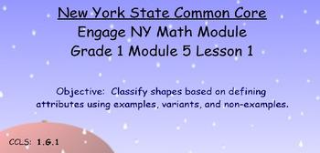 Engage NY, Eureka Math, Grade 1 Module 5