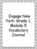 Engage NY/Eureka Math Grade 1, Module 5 Vocabulary Journal