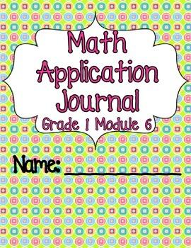 Engage NY Eureka Math Grade 1 Module 6 Application Problems Journal V2.0