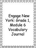 Engage NY/Eureka Math Grade 1, Module 6 Vocabulary Journal