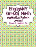 Engage NY Eureka Math Grade 1 Modules 1-6 Application Problems Bundle V2.0
