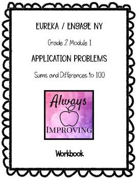 Engage NY / Eureka Math Grade 2 Module 1 Application Problem RDW Worksheets