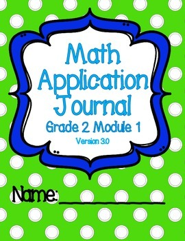 Engage NY Eureka Math Grade 2 Module 1 Application Problems Journal V3.0