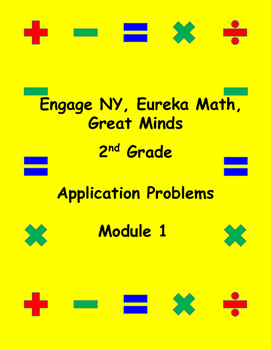 Engage NY Eureka Math Grade 2 Module 1 Application Problems (PAPER SAVER!!)