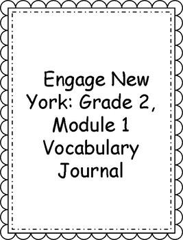 Engage NY/Eureka Math Grade 2, Module 1 Vocabulary Journal