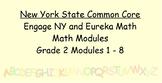 Engage NY, Eureka Math, Grade 2 Modules 1-8