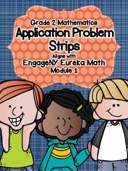 Engage NY Eureka Math Grade 2 Modules 1-8 Application Problems Strip Bundle