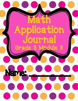 Engage NY Eureka Math Grade 3 Module 3 Application Problem