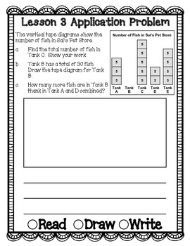 Engage NY Eureka Math Grade 3 Module 6 Application Problems Journal V2.0