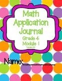 Engage NY Eureka Math Grade 4 Module 1 Application Problems Journal V2.0
