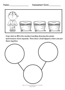 Engage NY/ Eureka Math Kindergarten Compose/Decompose number bonds NOPREP