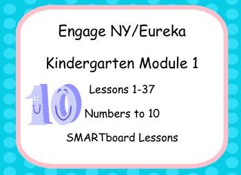Engage NY/Eureka Math SMARTboard Kindergarten Module 1