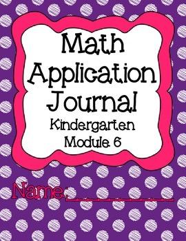 Engage NY Eureka Math Kindergarten Module 6 Application Problems Journal V2.0