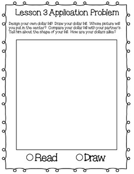 Engage NY Eureka Math Kindergarten Module 2 Application Problems Journal V2.0