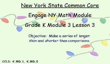 Engage NY, Eureka Math, Kindergarten Module 3, Topics A, B, C, D
