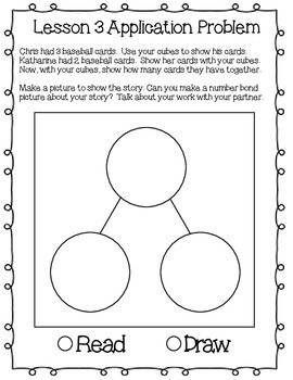 Engage NY Eureka Math Kindergarten Module 4 Application Problems Journal V2.0