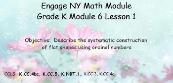 Engage NY, Eureka Math, Kindergarten Module 6