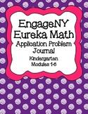 Engage NY Eureka Math Kindergarten Modules 1-6 Application Problems Bundle V2.0