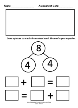 Engage NY/ Eureka Math Kindergarten addition using equations & pictures  NOPREP