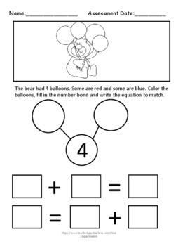 Engage NY/ Eureka Math Kindergarten addition using equations & pictures  NOPREP