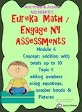 Engage NY/ Eureka Math Kindergarten addition using equatio