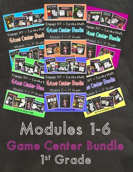 Engage NY/Eureka Math MEGA Games/Activities Bundle {1st Grade}
