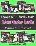 Engage NY / Eureka Math Mod 4 GAME BUNDLE {1st Grade}