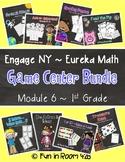 Engage NY / Eureka Math Mod 6 GAME BUNDLE {1st Grade}