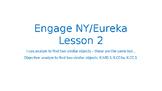 Engage NY/Eureka Math Module 1 Lesson 2