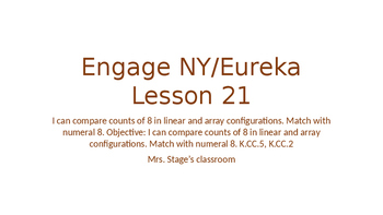 Engage NY/Eureka Math Module 1 Lesson 21