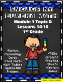 Engage NY {Eureka} Math Module 1 Topic D Lessons 14-16 1st Grade