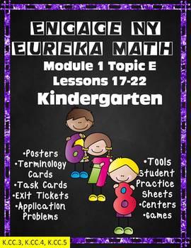 Engage NY Eureka Math Module 1 Topic E Lessons 17-22 Kindergarten