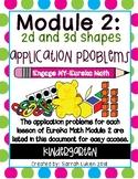 Engage NY Eureka Math Module 2 Application Problems