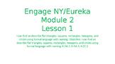 Engage NY/Eureka Math Module 2 Lesson 1