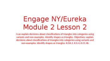 Engage NY/Eureka Math Module 2 Lesson 2
