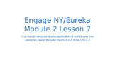 Engage NY/Eureka Math Module 2 Lesson 7