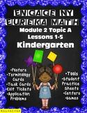 Engage NY {Eureka} Math Module 2 Topic A Lessons 1-5 Kindergarten